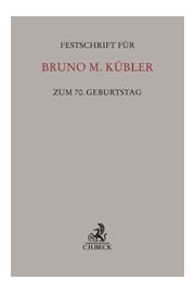 Festschrift_Kuebler_70Geb